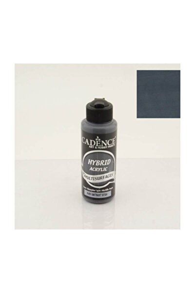 Hybrid Multisurface Akrilik Boya 120 ml. H-091 Antrasit Siyah