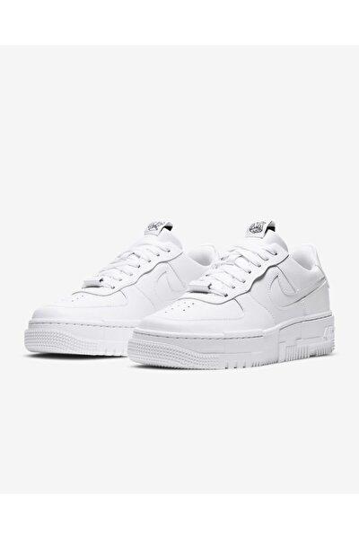 Kadın Beyaz Spor Ayakkabı Air Force 1 Pixel / Ck6649-100