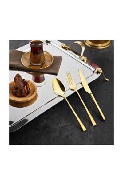 Hüma Gold 36 Prç.çatal Kaşık Set