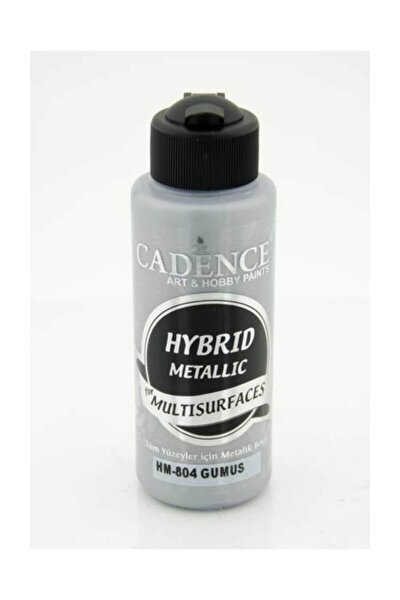 Hybrid Multisurface Metalik Boya 120 ml. Hm-804 Gümüş
