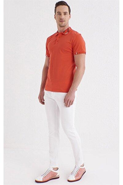 064 Slim Fit Beyaz Jean Pantolon