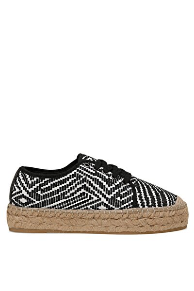 LONGHI2 Siyah Kadın Espadril Ayakkabı 100526143