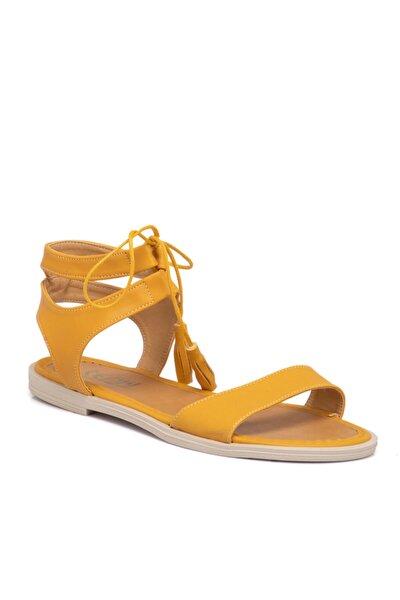 Hardal Vegan Kadın Sandalet 210138q2p