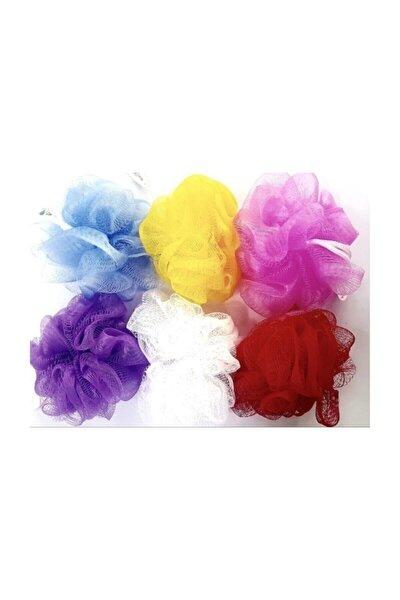 Renkli Banyo Duş Lifi Farklı Renklerde 6 Adet