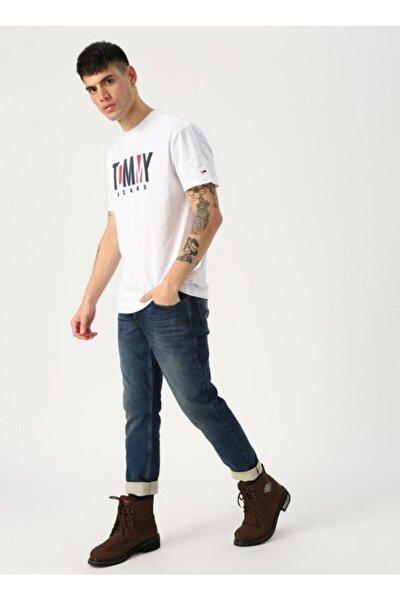 Erkek T-shirt - Beyaz
