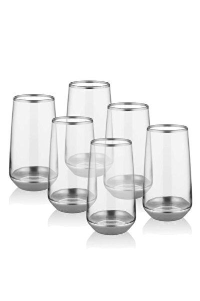 Glam Serisi 6'lı Gümüş Meşrubat Bardağı Glm010