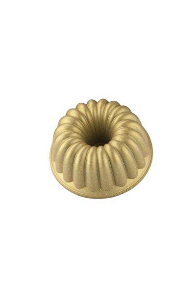 Dilim Döküm Kek Kalıbı Gold - 6585