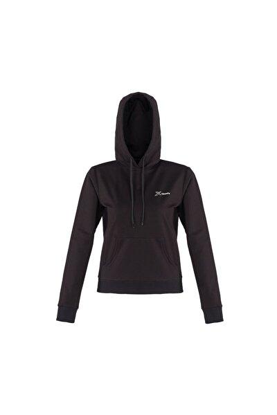BASIC HOODIE W Siyah Kadın Kapüşonlu Sweatshirt 100559621