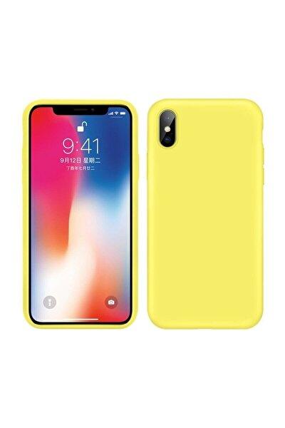Iphone X / Xs Içi Kadife Lansman Silikon Kılıf