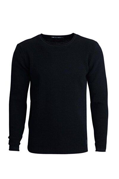 Erkek Siyah Dapple Knıt Kazak 19.02.22.009-siyah