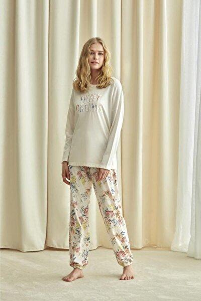 Kadın Pembe Pijama Takım 1733