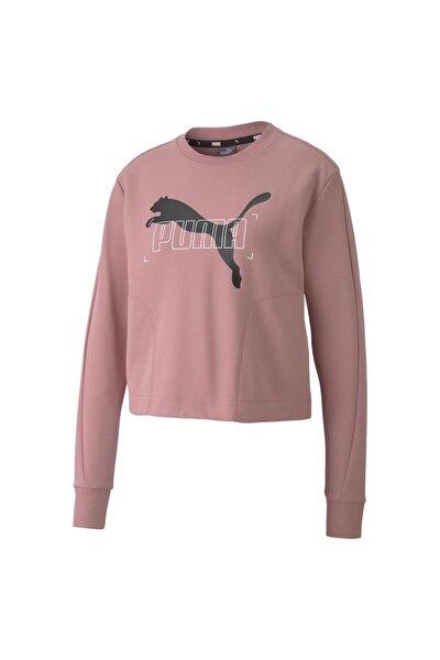 NU-TILITY CREW Pembe Kadın Sweatshirt 101119444