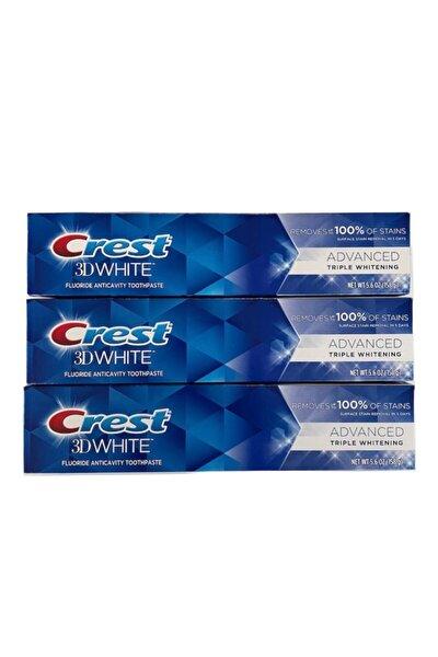 3d White Advanced Triple Whitening Diş Macunu 158 Gr X 3 Adet
