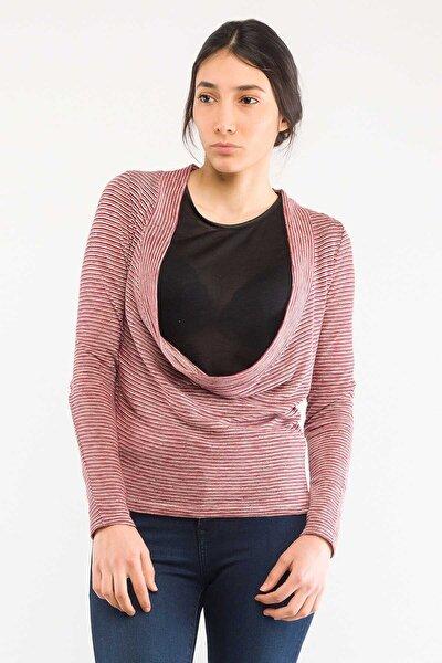 Vr017 Kadın Bluz Kırmızı