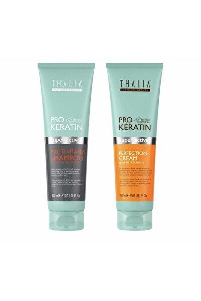 Pro Keratin Multivitamin Şampuan 300 Ml Güzelleştirici Krem 150ml