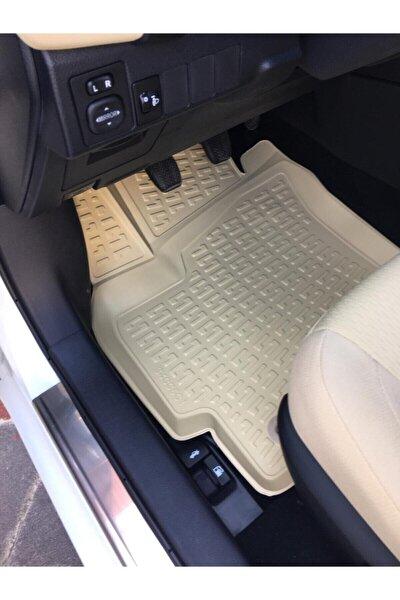 Toyota Corolla 2019 2020 Model Krem Bej Renk Araca Özel 3d Havuzlu Paspas