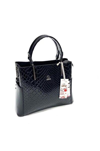 Kadın El Omuz Çantası Siyah Beyaz Bayan Çanta Modelleri