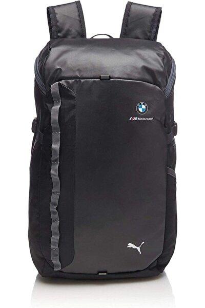 Unisex Siyah Sırt Çantası Bmw M Msp Backpack Anthracite