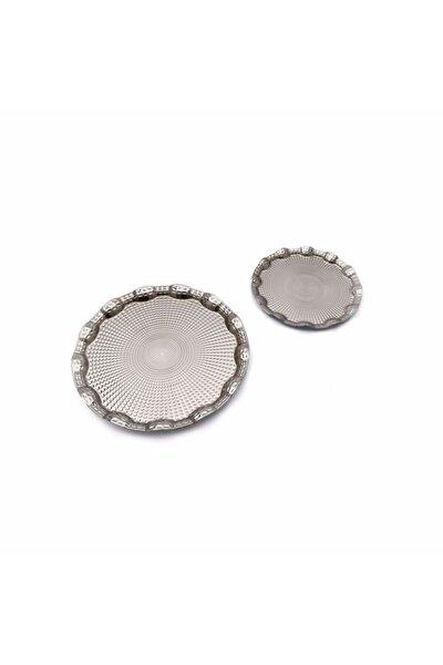 Dalgıç 2 Li Bombeli Tepsi Gümüş