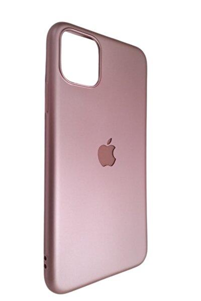 Iphone 11 Pro Max Rose Lansman Silikon Logolu Kılıf