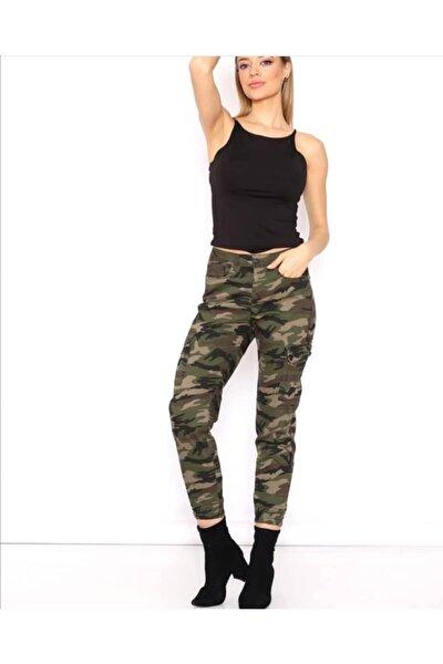Kadın Kamuflaj Pantolon