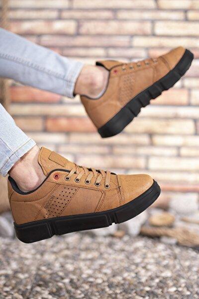 Taba Siyah Erkek Sneaker 0012y10