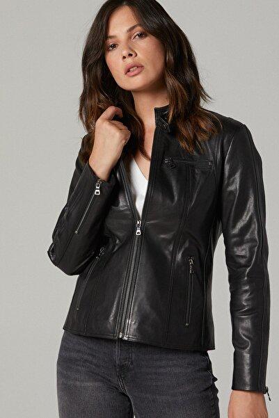 April Kadın Deri Ceket
