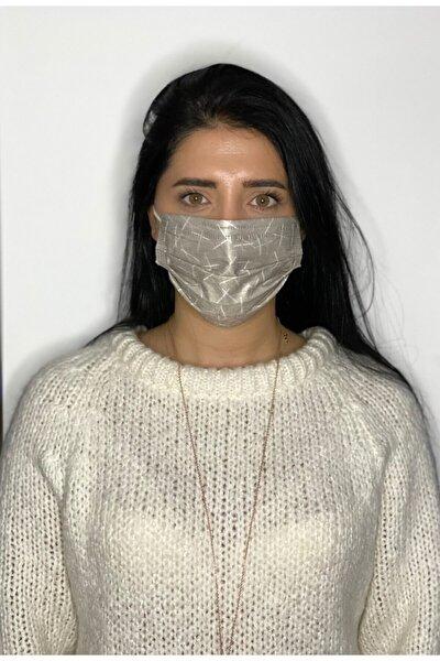 10 Adet Unısex Desenli Baskılı Maske, 3katlı, Burun Telli, Meltblown Ara Katmanlı