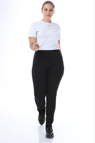 Kadın Yanı Lastik Detaylı Pantolon