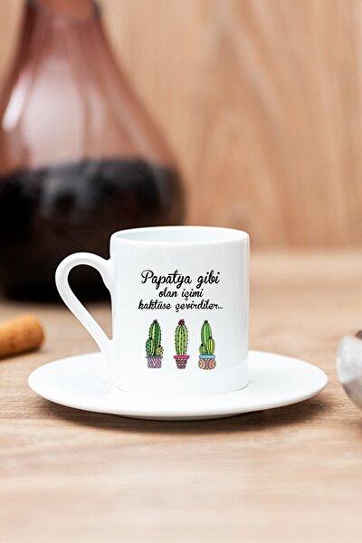 Kaktüs Tasarım Türk Kahvesi Fincanı