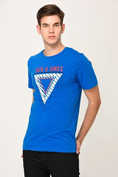 Jack Jones Jcobooster Tee Ss Crew Neck January 19 Erkek Tshırt 12156806