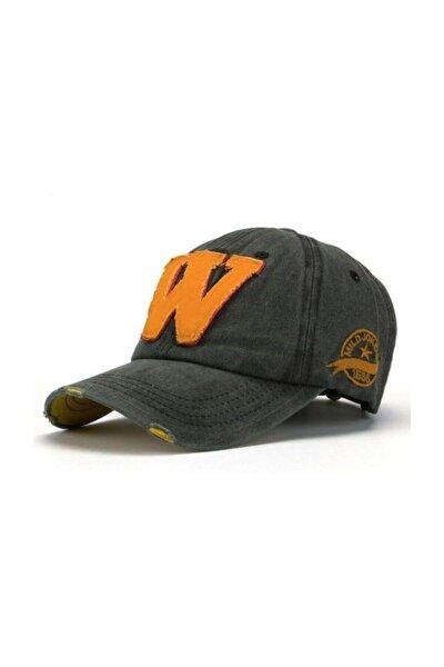 Siyah  Nakışllı Şapka