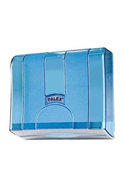 Standart Z Katlı Kağıt Havlu Dispenseri Şeffaf Mavi 3570-1