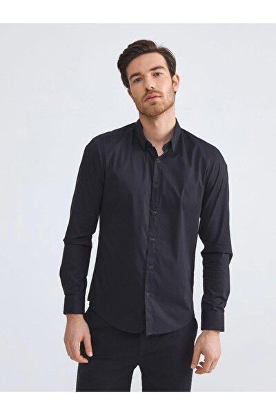 Xınt Pamuklu Slim Fit Basic Gömlek