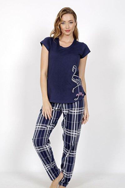 Pamuklu Kısa Kol Pijama Takım