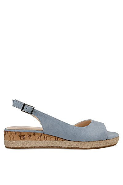 HUEY Mavi Kadın Dolgu Topuklu Sandalet 100526771
