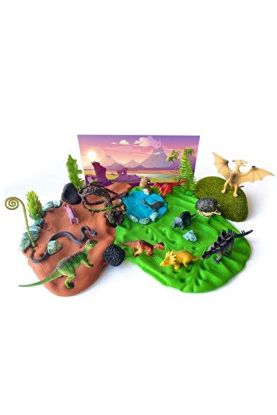 Dinozorlar Oyun Hamuru Kiti