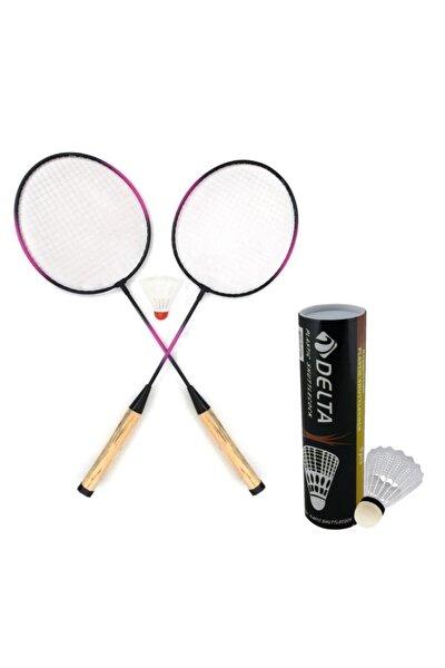 2 Adet Badminton Raketi & 7 Adet Badminton Topu Oyun Seti