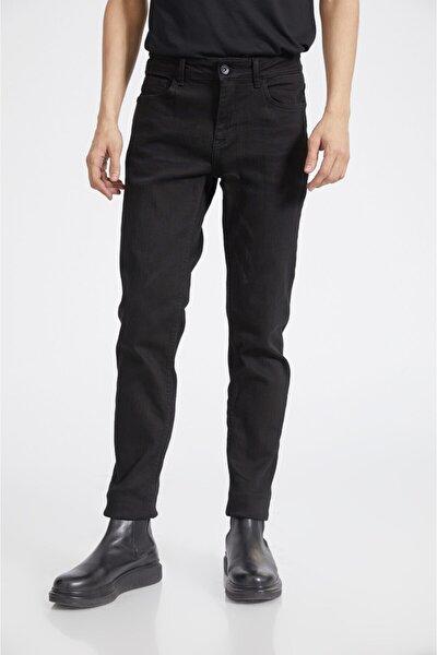 Erkek Siyah Slim Fit Jean Pantolon E003500