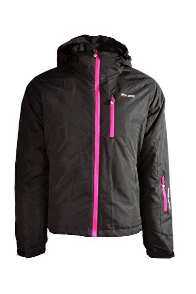 Kadın Kayak Montu Black-pınk - L