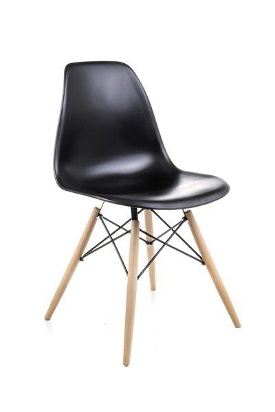 Siyah Eames Sandalye - Cafe Balkon Mutfak Sandalyesi
