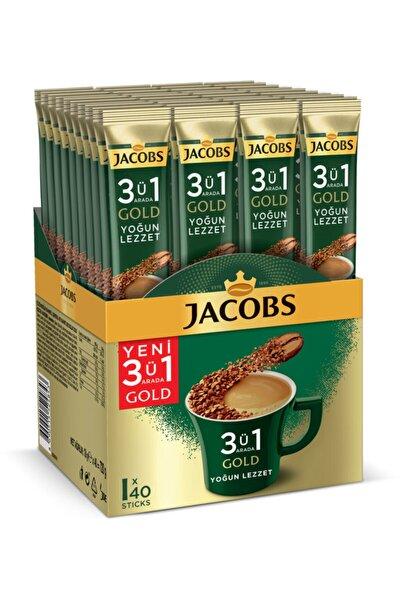 3ü1 Arada Gold Kahve Karışımı Yoğun Lezzet 40 Adet
