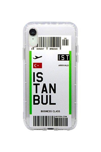 Iphone Xr Şehir Uçak Bileti Telefon Kılıfı Istanbul
