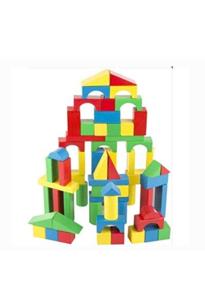 8 Parça Ahşap Blok Montessori Eğitici Set