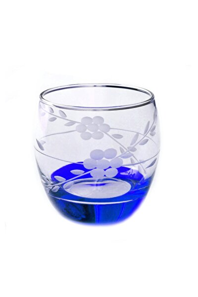 Paşabahçe 41010 Papatya Mavi Barel Su-meşrubat Bardağı 6 Adet