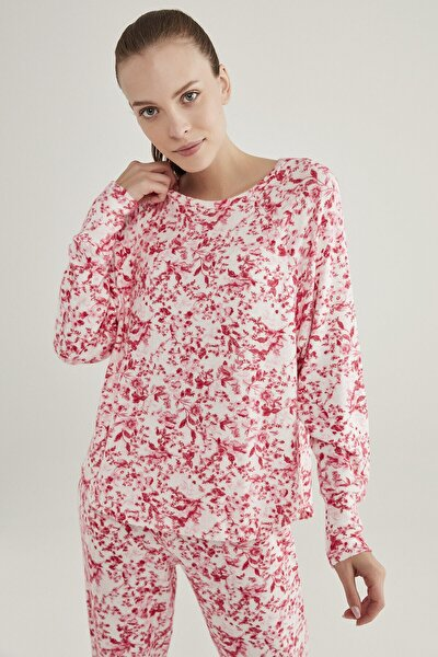 Pembe Melanj Pink Flowers Sweatshirt