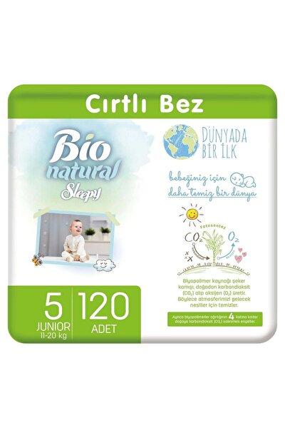 Bio Natural Bebek Bezi 5 Numara Junior 120 Adet