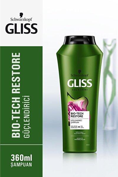 Schwarzkopf Gliss Bio-Tech Güçlendirici Şampuan 360 Ml