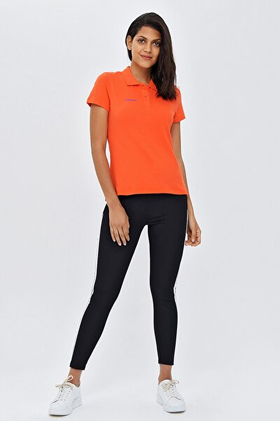 Kadın Pamuklu Polo T-shirt Verona