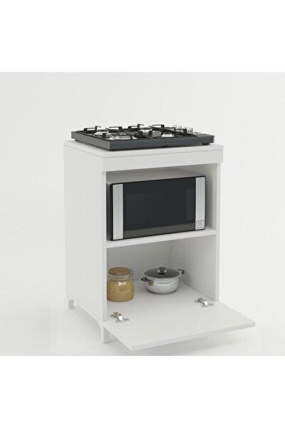 Beyaz Mutfak Ocak Dolabı 85*60*57